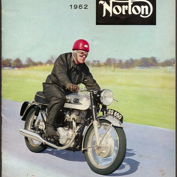 "1962 - ""Norton"" Motorcycles Sales Brochure"