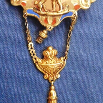 Vienna gold brooch - Fine Jewelry