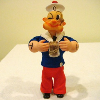 Wind-up Popeye doll