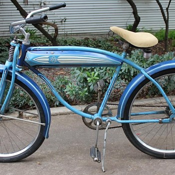 "1950's Sterling Men's Tank Bike 26"" Cruiser - Sporting Goods"