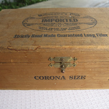 Old Cigar Box - Tobacciana