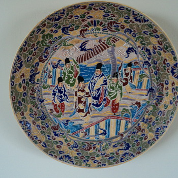 Plate from China - Asian