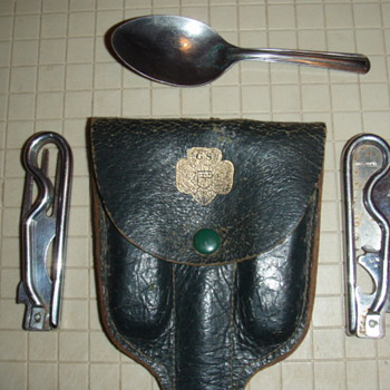 1926 Girl Scouts of America Camping Utensils - Sporting Goods
