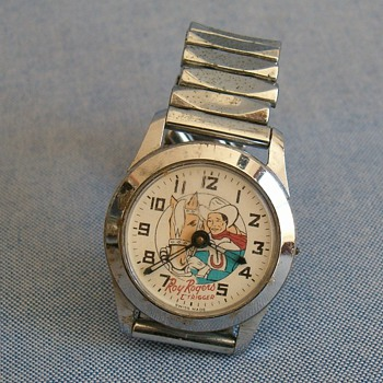 1962 Bradley Roy Rogers Wristwatch - Wristwatches
