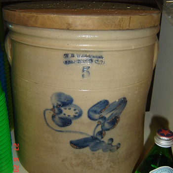 Antique crock