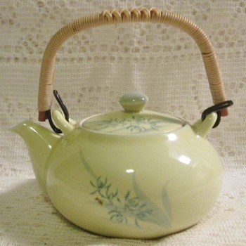 Tiny Asian teapot