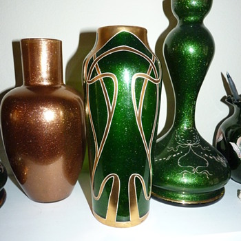 Aventurine!  Harrach!.  - Art Glass