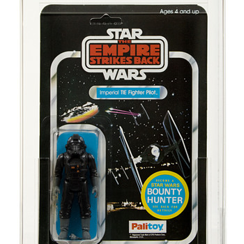 1981 Palitoy ESB 45 BACK-A Tie Fighter Pilot AFA 80
