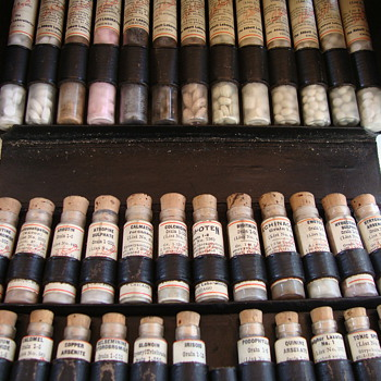 Medicine / Pill Cases 1920's 1930's Butte, Montana - Bottles