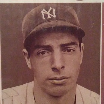 """The Yankee Clipper"" - Baseball"