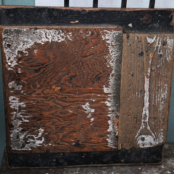 An Old Bin Door or Cover