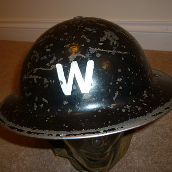 WW11 British Wardens helmet
