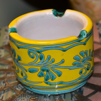 Ashtray - Italy? - Art Pottery