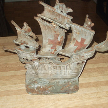 Cast iron ships