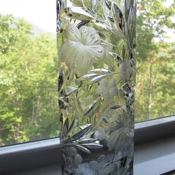 Grandma's vase    - Glassware