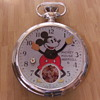 Hand Crafted Super-Sized 1933 Mickey Mouse Pocket Watch