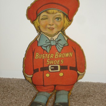 Buster Brown Shoes Advertising rag doll - Advertising