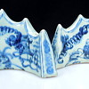 Pair of Crown Shaped Porcelain 