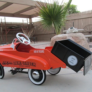 Pedal Car Dump Truck - Toys
