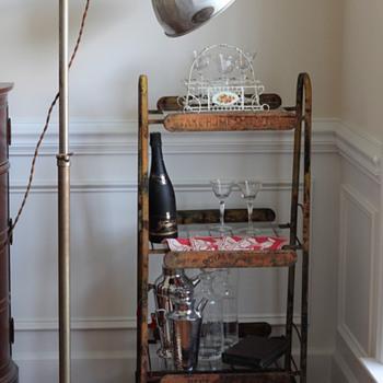 Vintage BriteSun Industrial Lamp