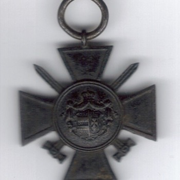 "So called ""WW1 French Medal"" for $3.00 is really rare Oldenburg decoration"
