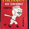 CINCINNATI RED STOCKING 1954 YEARBOOK
