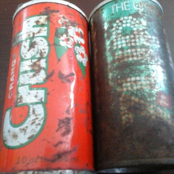 Tin Soda Cans
