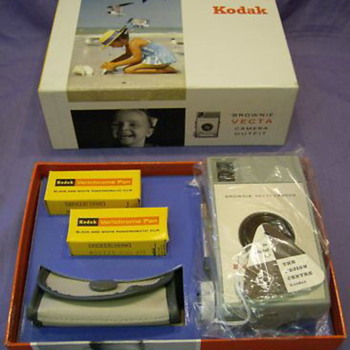 kodak brownie vecta camera outfit
