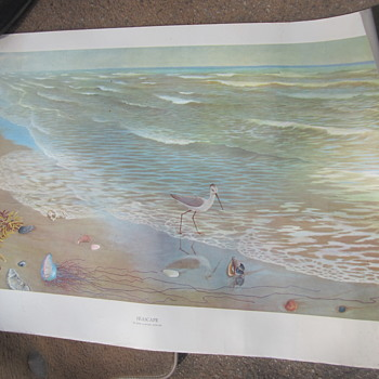 SEASCAPE BY JOHN LANGLEY HOWARD POSTER SIZE PRINT