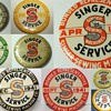 Singer  Badges &amp;  Pinbacks