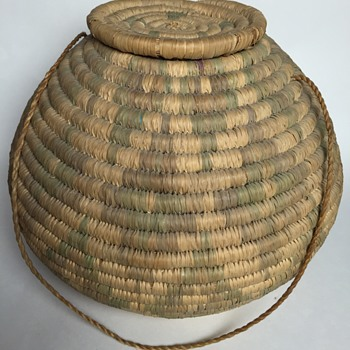 Vintage coil basket...Native American?
