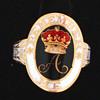 Rare Princess Amelia Mourning Ring