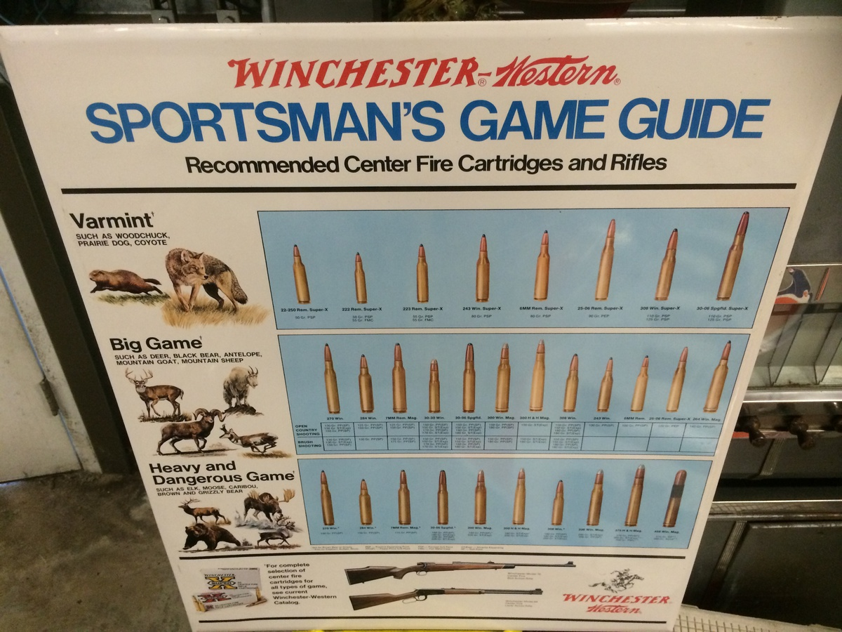 guide sportsman winchester western game sign stories