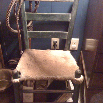 Great-Grandmothers chair - Furniture