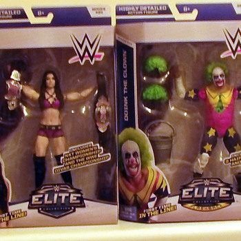 More Mattel WWE figure pick ups
