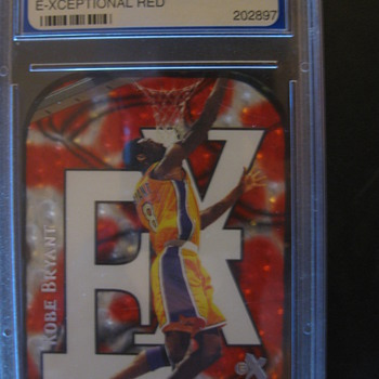 KOBE BRYANT SKYBOX 1999-00 E-XCEPTIONAL RED - Cards