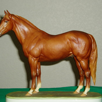 My Favourite Royal Worcester Horse Hyperion Limited Edition of 500.