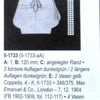 LOETZ COPPELIA GELB II-1733 (1904)