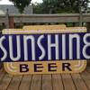 Sunshine Beer Porcelain Sign