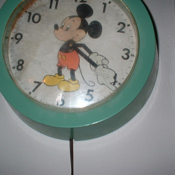 Micky Mouse Clock - Clocks