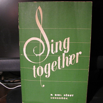 1949 Girl Scout Songbook - Books