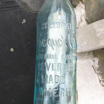 Old Glass Bottle  - Bottles