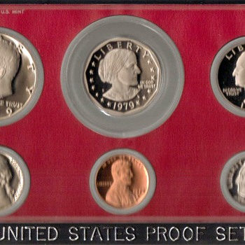 1979 S - U.S. Proof Coins Set - US Coins