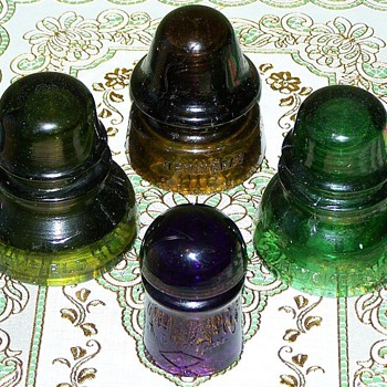 Nice insulator colors don't have to cost a fortune