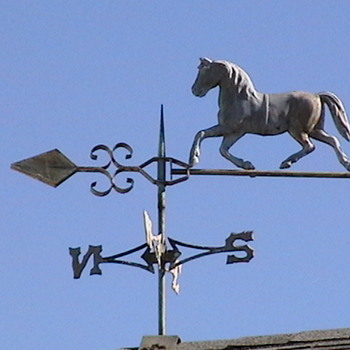 1910-1920's Horse Weathervane - Folk Art