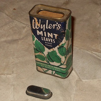 Wyler's Mint Leaves Tin  - Kitchen
