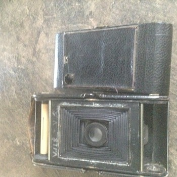 Antique camera..