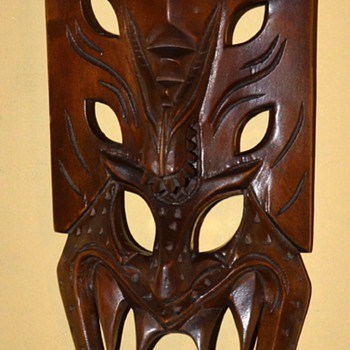 Cool Mask I found - where's it from? - Folk Art