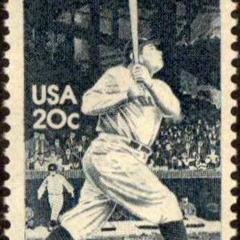 1983 - 'Babe' Ruth Postage Stamp (US)