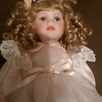 Two dolls given to my daughter from her great-grandmother